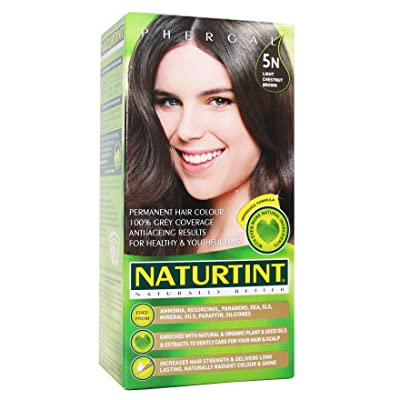 Naturtint Permanent Hair Colorant 5N Light Chestnut Brown