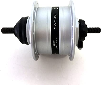 32H Silver Shimano Alfine DH-3D37 Front Hub Dynamo Generator Disc Brake