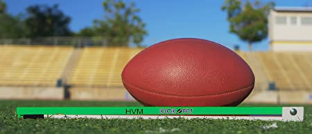 Football Holder Football Place Holder Kicking Tee Use with Foot ball Field Goal Post or Football Kicking Net Green and Silver CHUYANG Kickoff