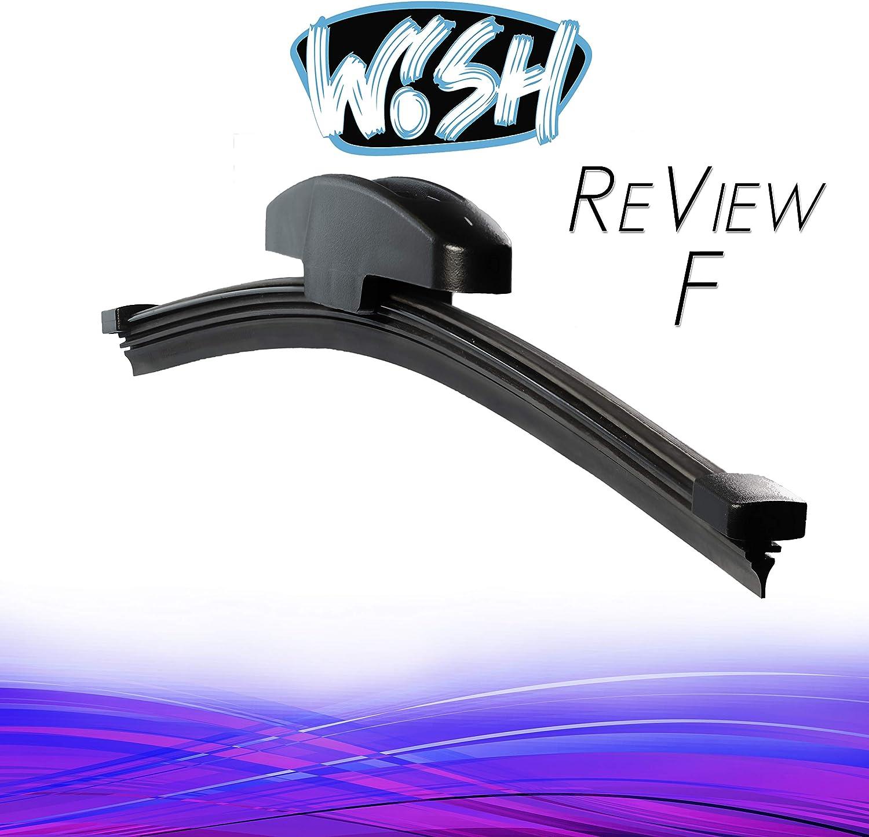 22 550mm Wischbl/ätter Vorne Flachbalkenwischer UP26.22.B5 Wish/® Universal Premium Satz Front Scheibenwischer L/änge 26 650mm