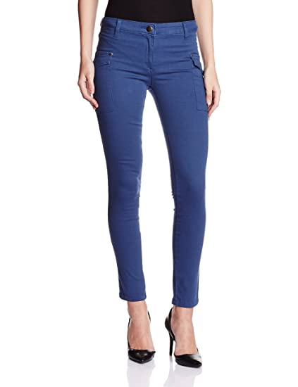 Style Quotient By NOI Women's Track Pant Trousers at amazon