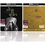 A Star Is Born & Bohemian Rhapsody (Steelbook) (4K UHD & HD) (4-Disc)