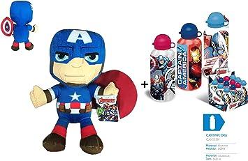 AVNGRS Los Vengadores (The Avengers) - Pack Peluche Capitan ...