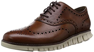 Cole Haan Men's Zerogrand Wing Oxford, British Tan, 7 M US