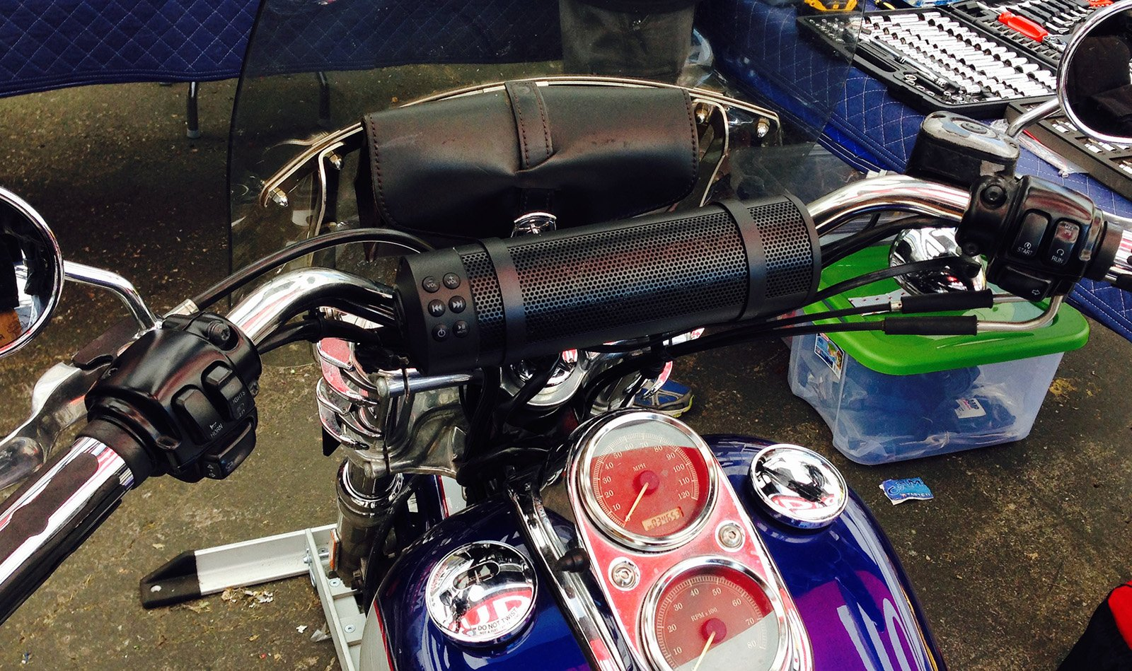 MTX MUDHSB-B Universal 6 Speaker All Weather Handlebar Sound System by MTX (Image #8)