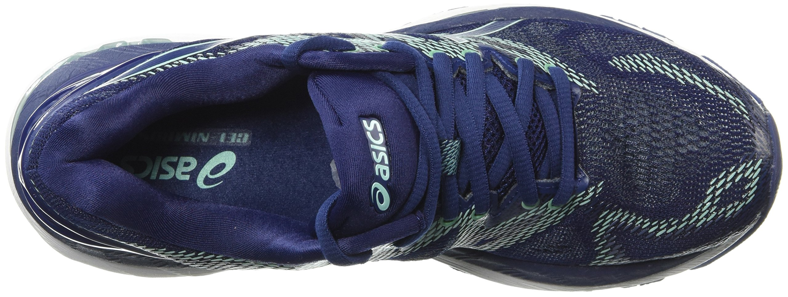 ASICS Women's Gel-Nimbus 20 Running Shoe, indigo blue/indigo blue/opal green, 12 D US by ASICS (Image #7)
