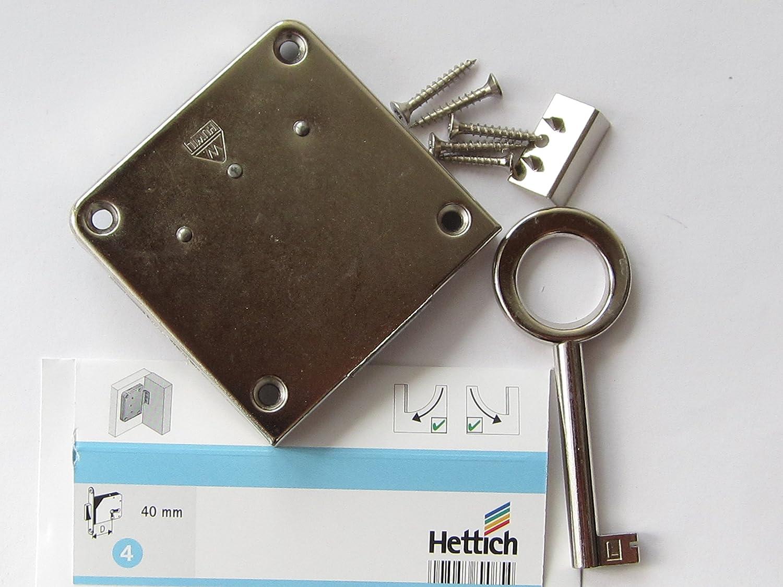 HKB ® Nutbart-Aufschraubschloss, Dornmaß 40 mm, gleichschließend, 1 Stück, 89085 HKB ®