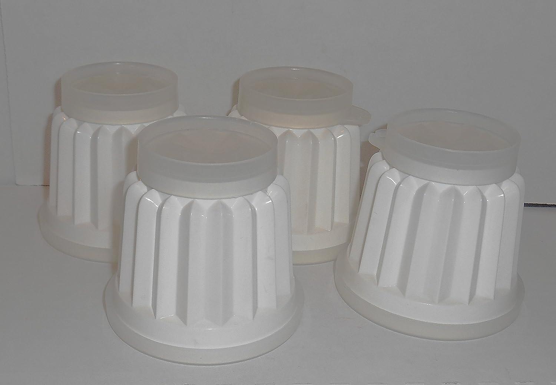 Metal 4 Ounces Each Mini Cake Pans Jell-O Molds Set of 6 Rice Molds