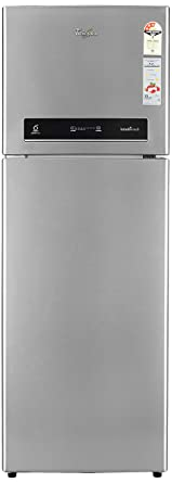 Whirlpool 360 L 3 Star Frost Free Double Door Refrigerator(IF375 ELT 3S, Alpha Steel)