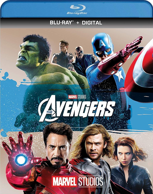 MarvelS The Avengers Edizione: Stati Uniti Italia Blu-ray: Amazon ...