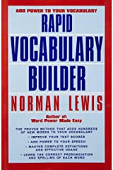 Rapid Vocabulary Builder Paperback