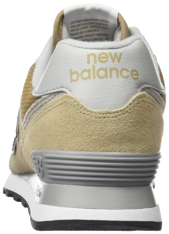 New Balance 574v2, Baskets Homme, Bleu (Navy/Chilli Pepper Esc), 37 EU