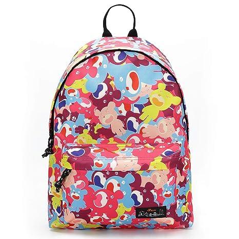 796422ad69a9 Amazon.com: Fashion School Backpack Bookbag Cool College Student ...