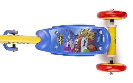 Super Wings-OSWI110 Super Wings Patinete Juegos, Color, única (Darpeje OSWI110