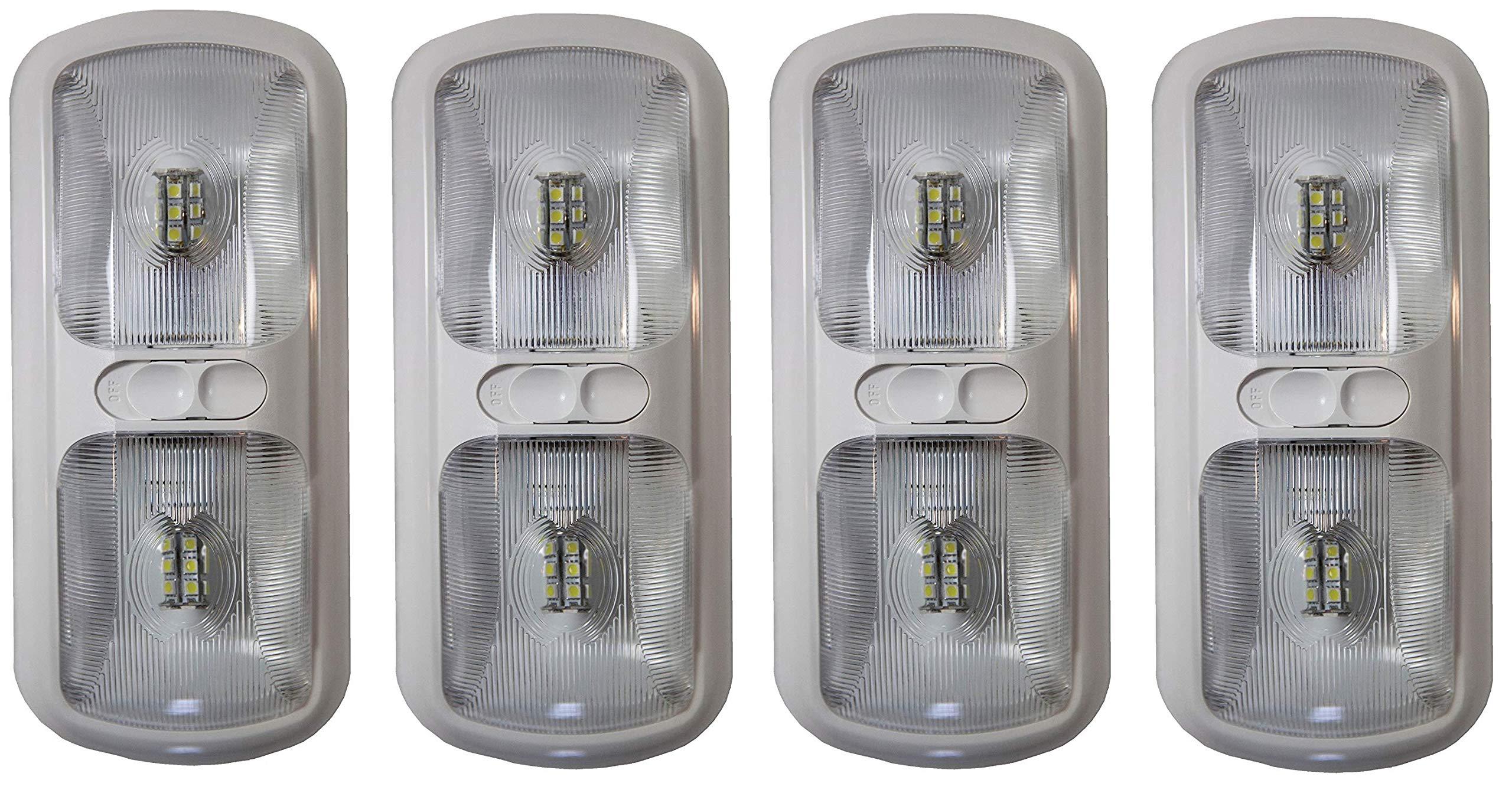 Arcon  20670 Bright White EU-Lite Double LED Light with Optic Lens (4)