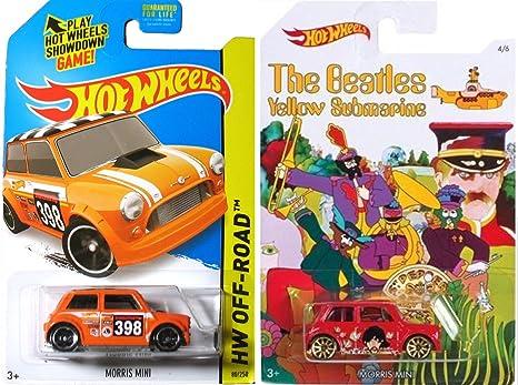 Amazoncom Beatles Hot Wheels Morris Mini Cooper Off Road Mini