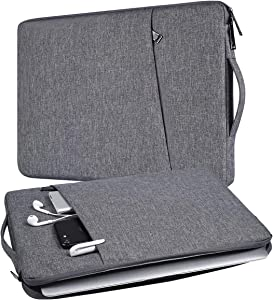 "14 inch Laptop Sleeve Case for Dell XPS 15 9575 /Latitude 14, MacBook Pro 15"", HP Pavilion x360/HP Stream 14, ASUS HP Acer Chromebook 14, Dell Inspiron 14, Samsung LG Lenovo and Most 14-15 inch Laptop"