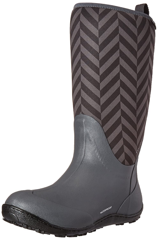 Columbia Women's Snowpow Tall Print Omni-Heat Snow Boot B0183QCPNM 11 B(M) US|Dark Grey/Cool Grey