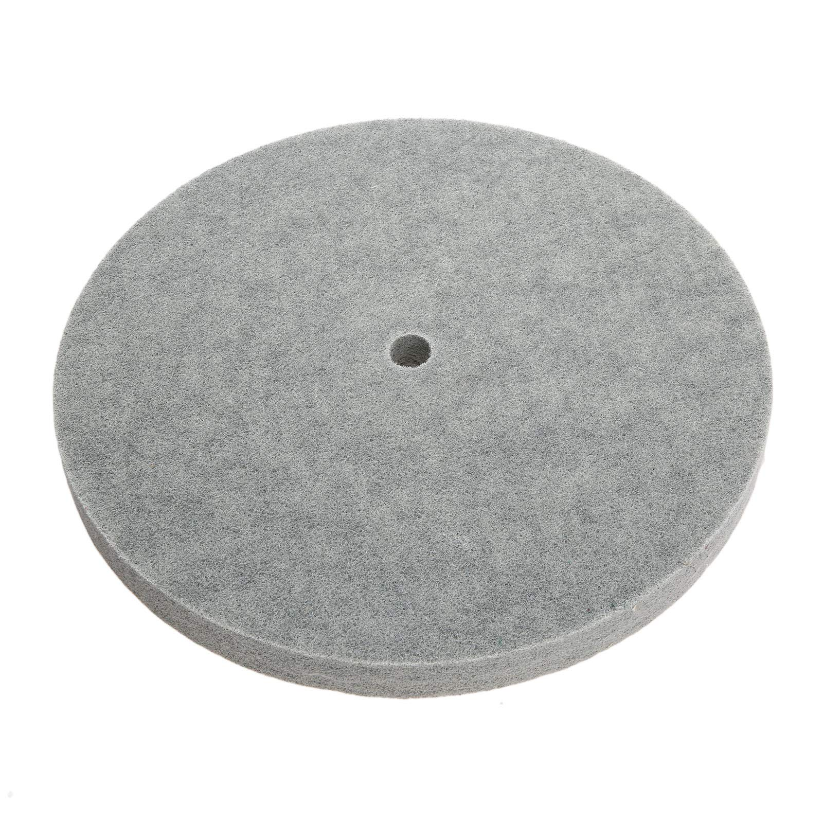 1 PC Thickness Nylon Fiber Polishing Wheel Non-Woven Unitized Wheel 5P 180#, 300MM by Yetaha (Image #1)