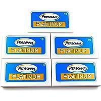 Personna Platinum scheermesjes, 50 scheermesjes voor scheermesjes