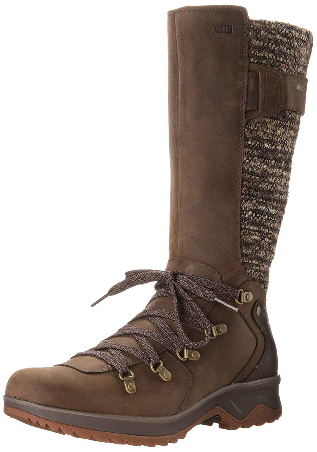 Merrell Women's Eventyr Peak Waterproof Boot B00RDRB1LK 5 B(M) US|Dark Earth