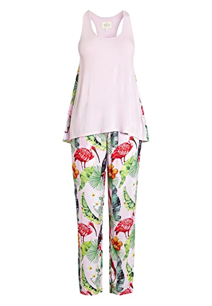 next Mujer Pijama con Estampado De Tucán Tropical EU 50 (UK 22)