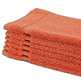 Towel Bazaar 6-Pack 100% Turkish Cotton Wash