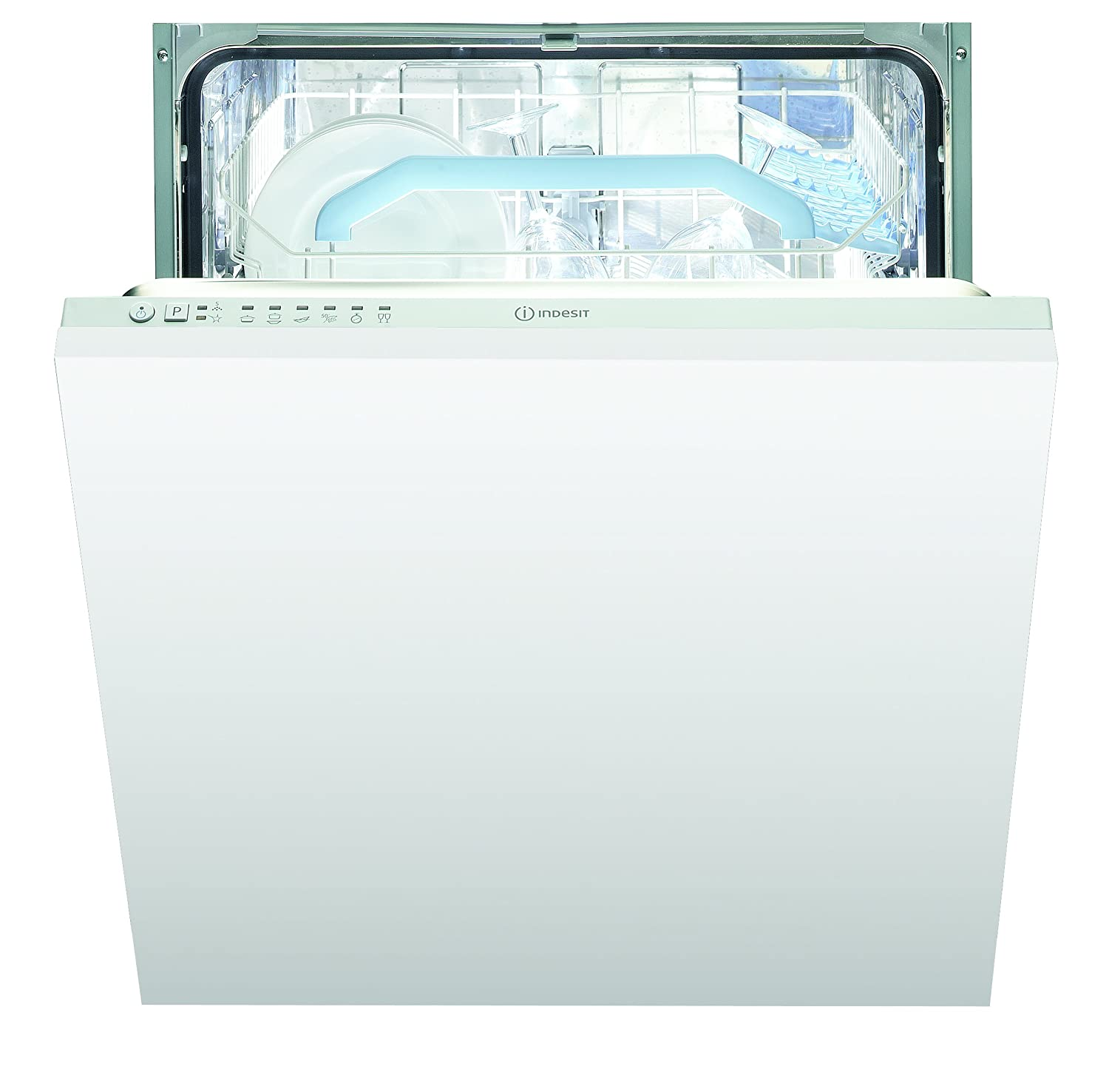 INDESIT DIF16B1 13 Place Fully Integrated Dishwasher with Quick Wash White