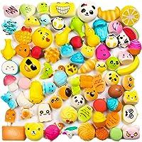 WATINC Random 30 pcs Squishies Cream Scented Slow Rising Kawaii Simulation Lovely Toy Medium Mini Soft Food squishies, Phone Straps (30P Donuts)