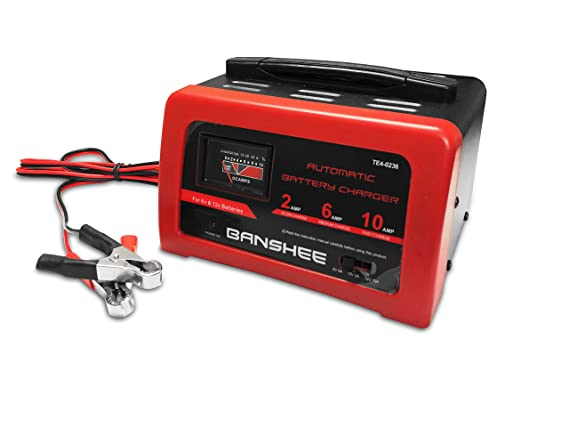 Amazon.com: 10/6/2 Amp 12 Volt Battery Charger & Engine ...