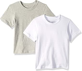 Calvin Klein Boys 2 Pack Short Sleeve Tshirt Short Sleeve T-Shirt