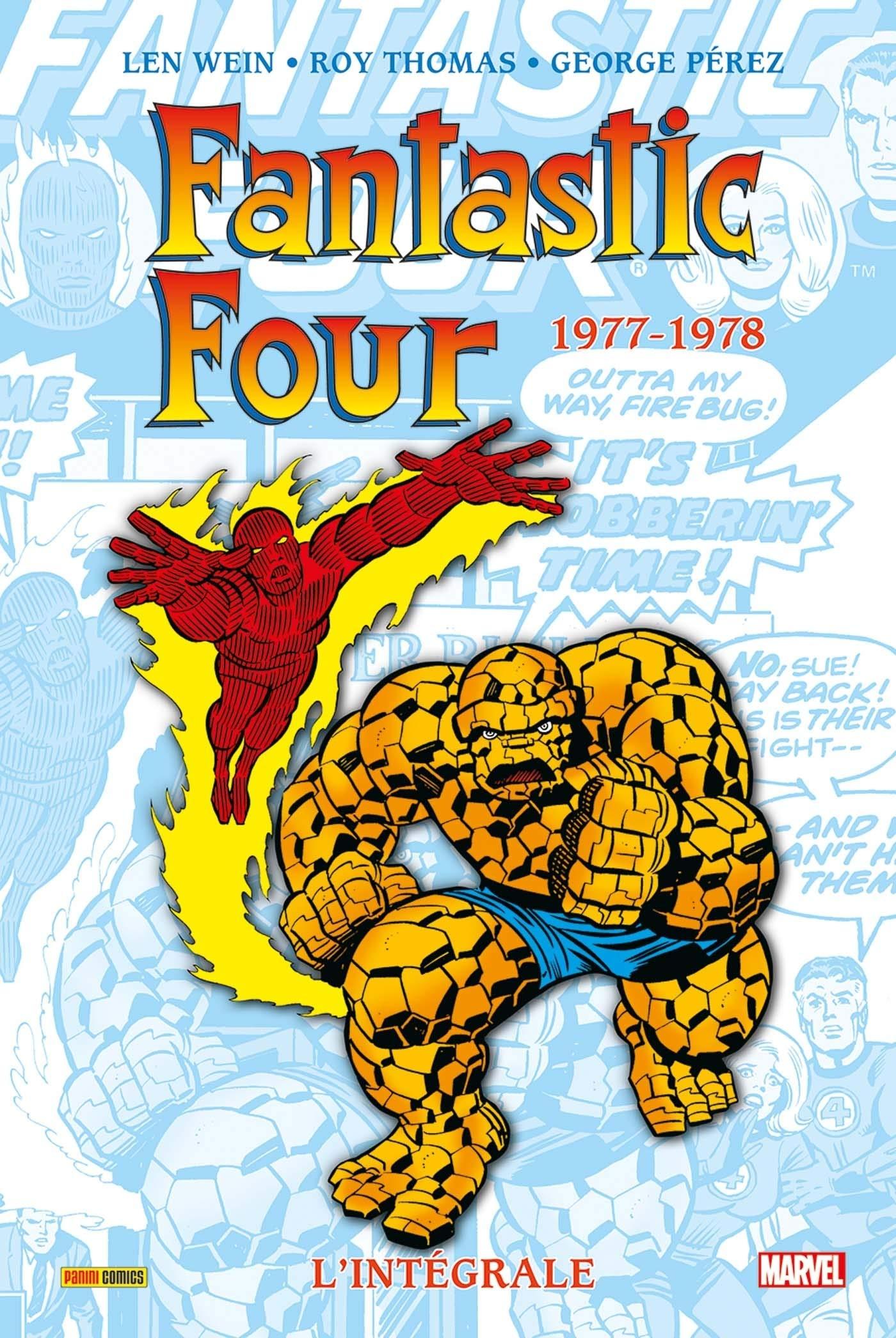 Fantastic Four lIntégrale : 1977-1978 Marvel Classic: Amazon ...