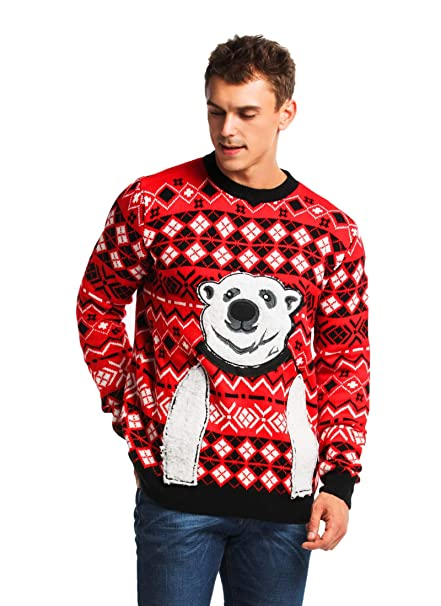 Christmas Ugly Sweater.2018 Designs Range Unisex Men S Knit Christmas Ugly Sweater Funny Santa Reindeer Pullover