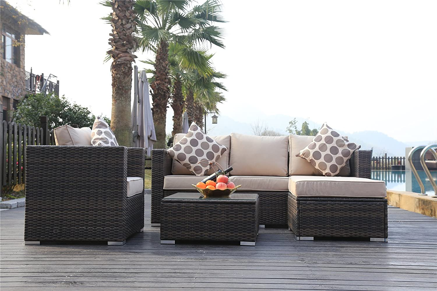 furniture kenzo woven outdoor residential location sets patio