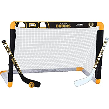 Franklin Sports NHL Boston Bruins Team Mini Hockey Set 33be273af