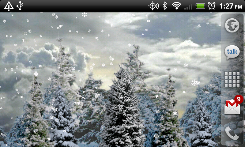 Amazoncom Snowfall Live Wallpaper Appstore for Android