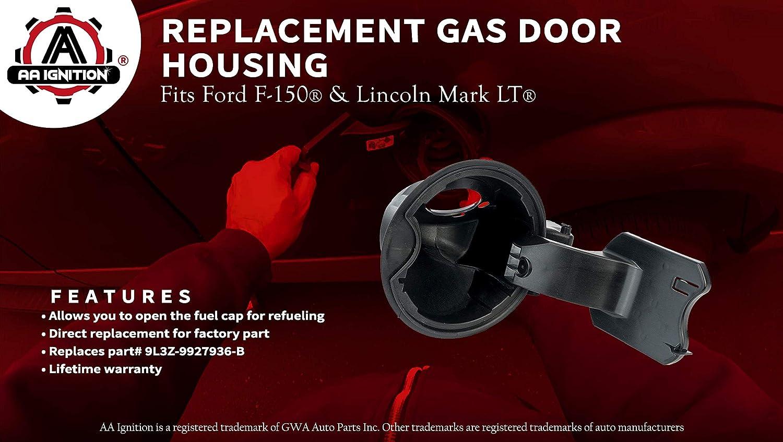 2014 Lincoln Mark LT Gas Tank Cap Door Hinge 2012 Fits Ford F150 Models Year 2009-2014 9L3Z9927936B Fuel Filler Door Housing Pocket Assembly Replaces# 9L3Z-9927936-B 2011 2013 2010
