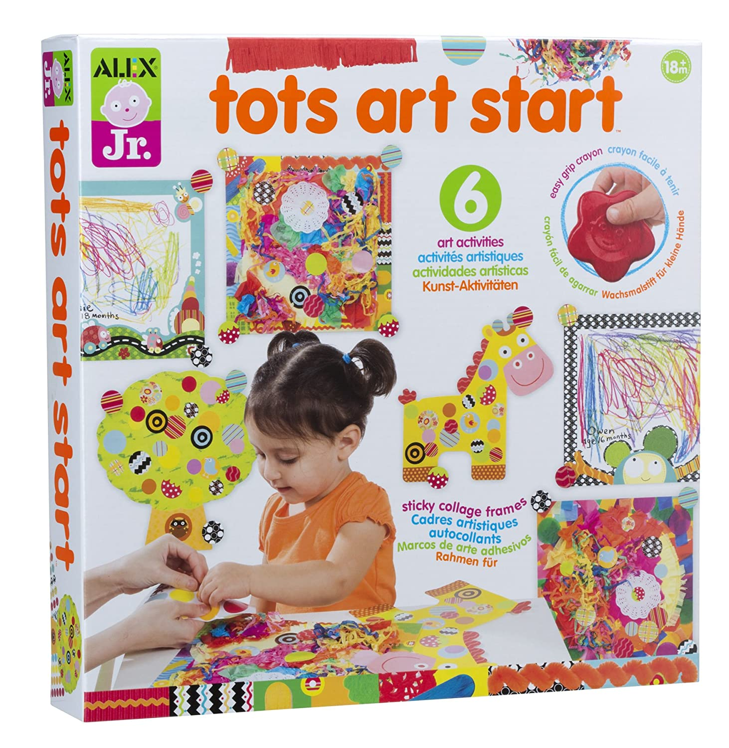 Amazon ALEX Jr Tots Art Start Toys & Games