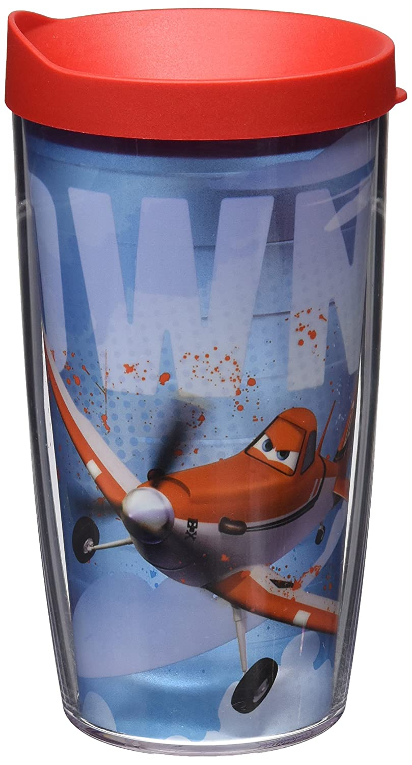 851881cbd80f Tervis Wrap Tumbler with Red Lid, 16-Ounce, Disney Planes: Amazon.ca ...