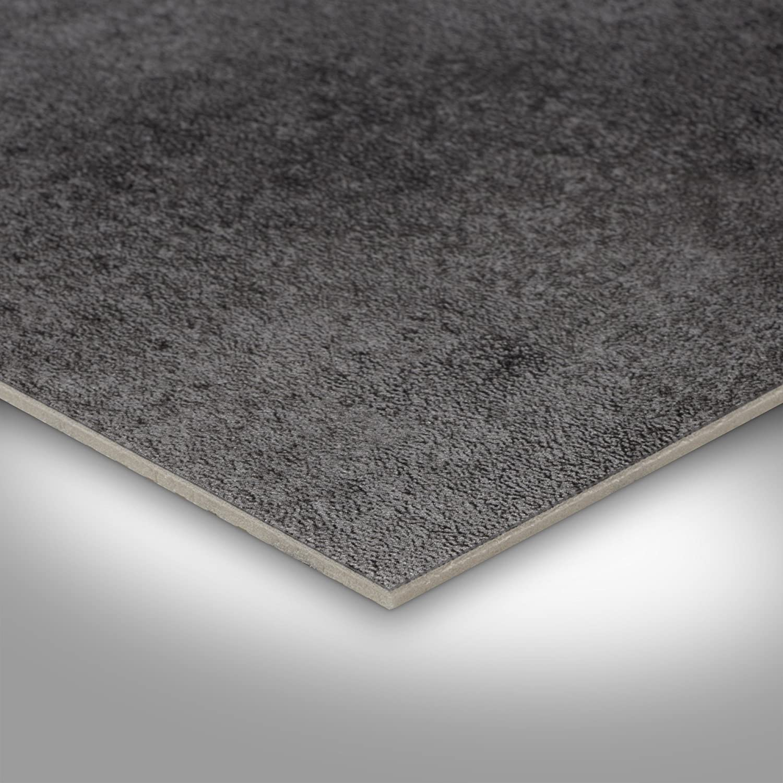 200 verschiedene Gr/ö/ßen Meterware Metalloptik silber anthrazit Gr/ö/ße: Muster 300 und 400 cm Breite PVC Bodenbelag Steinoptik