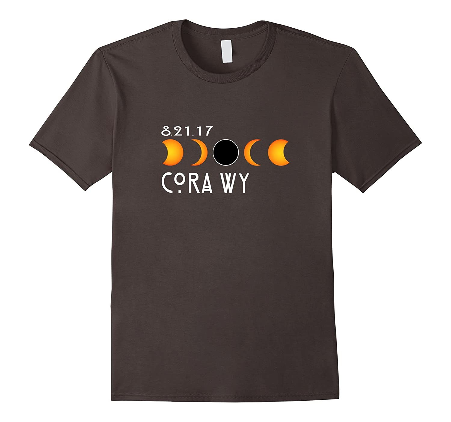 Cora Wyoming Dallas Oregon Total Solar Eclipse 2017 T-Shirt