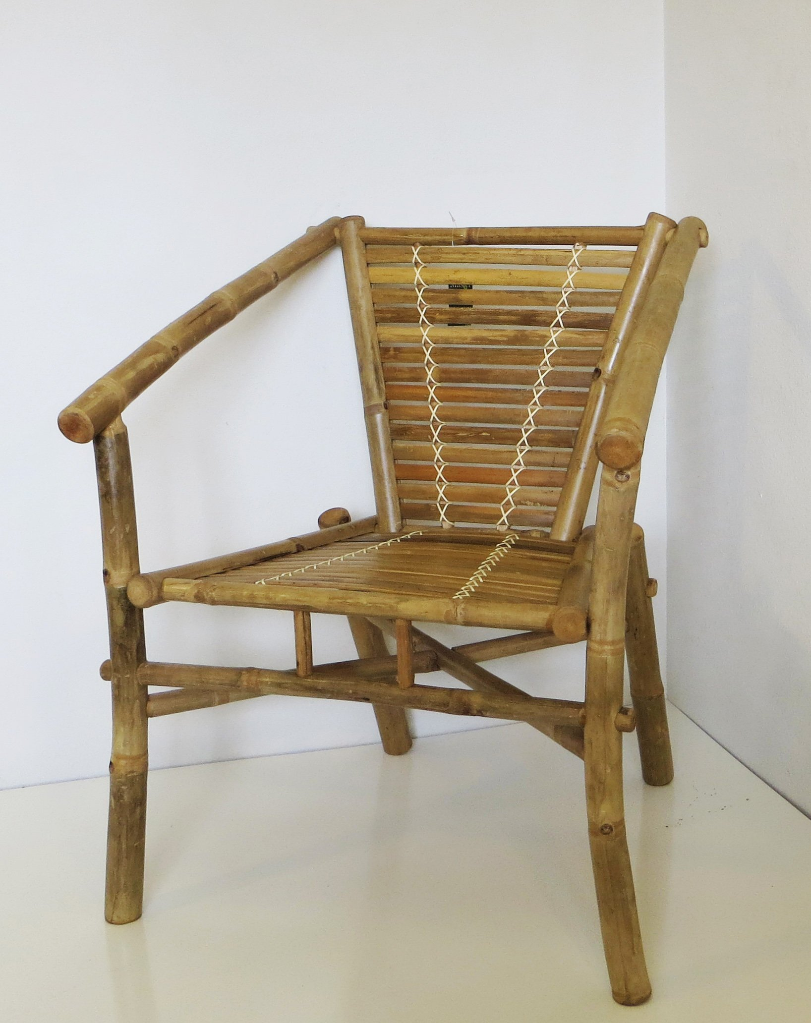 Bamboo Stackable Chair