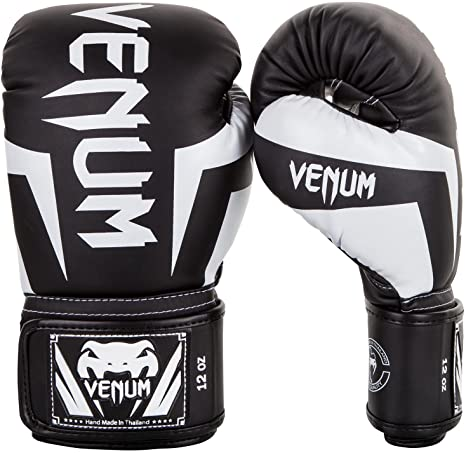 Guantoni VENUM ELITE white//white Box MMA KICK BOXE THAI BOX GUANTI