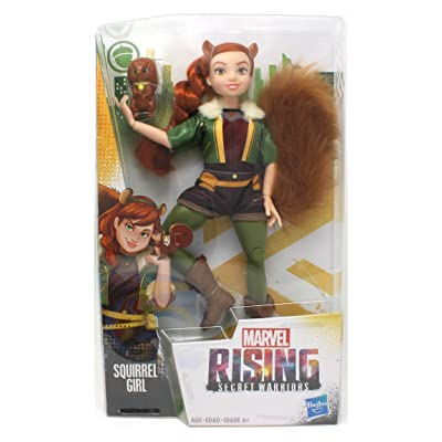 Marvel Secret Warriors Squirrel Girl Fashion Dolls: Toys & Games