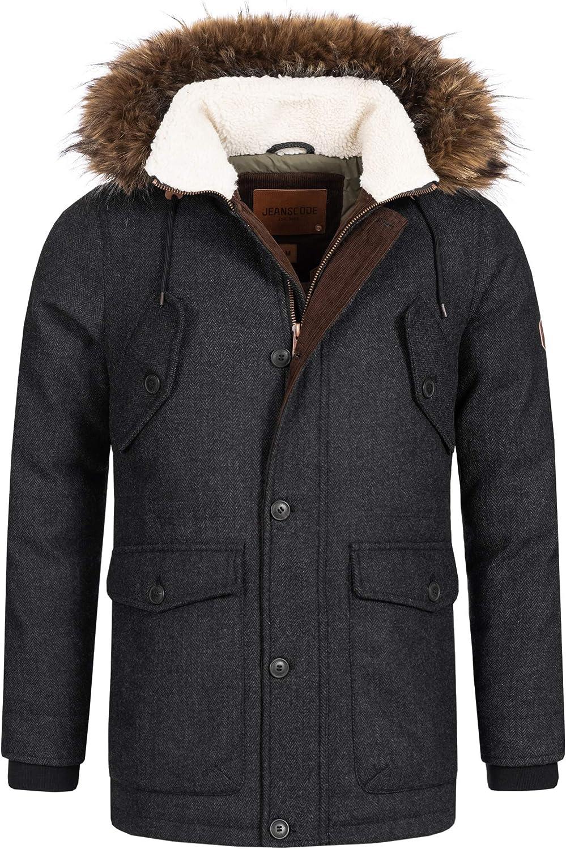 ALIKEEY Veste en Coton pour Manteau Femme Hiver Veste Hiver