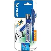 Pilot 226400 Frixion Point - Bolígrafo (punta fina, incluye 3 cartuchos de tinta de recambio), color azul