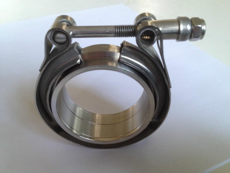 76mm V Band Schelle 2x Anschweißringe V Band 3 76 1 Baumarkt