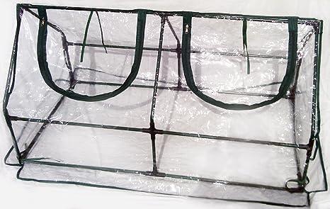 Amazon.com : Zenport SH3212A Garden Cold Frame Greenhouse Cloche for ...