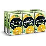 Juicee Crush Fruit Juice, Orange (Pack of 4 x 6 x 250 ml), 6 x 250 ml, Orange