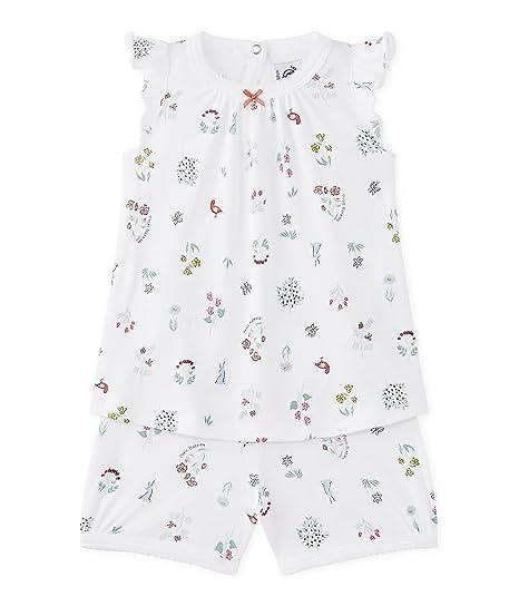 Petit Bateau Miles, Conjuntos de Pijama para Bebés, (Ecume/Multico),
